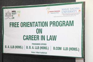 Career Orientation Program on CAREER IN LAW