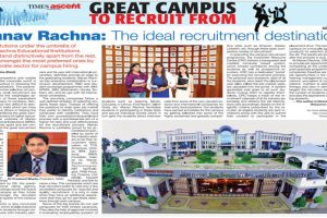 Great Campus to Recruit From in Times Of India