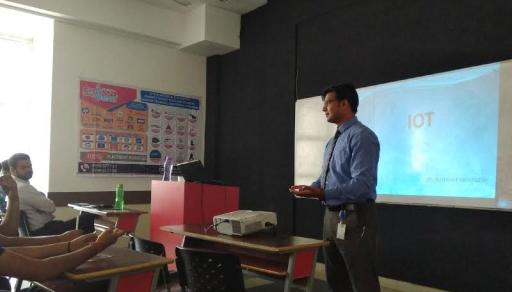 WORKSHOP ON IOT ON 29th APRIL, 2017 BY ECE DEPARTMENT