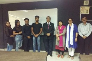 Department of Management and Commerce organized a gaming event of 8 ball pool