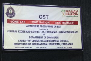 One Tax One Nation One Market Awareness Program on GST