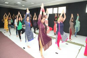 MRIU organises International Yoga Day in Association with Morarji Desai National Institute of Yoga, Ministry of Ayush
