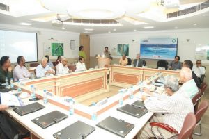 'Technology Intervention for Management of Saline and Polluted Aquifier' Workshop conducted at MRIU