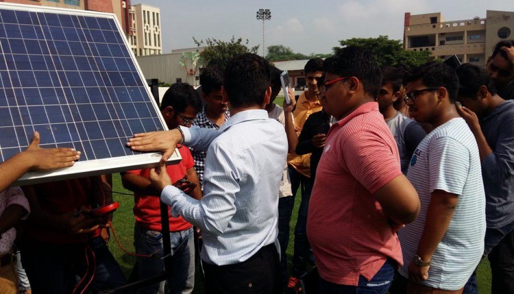 Centre For Smart Solar Energy organizes workshop on Solar PV Technology for New Entrants (4)