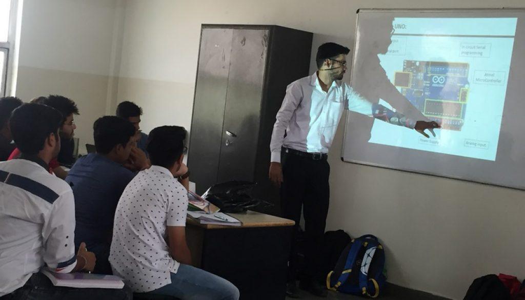 Day 3 of Mechanical Engineering, MRU Orientation Programme (4)
