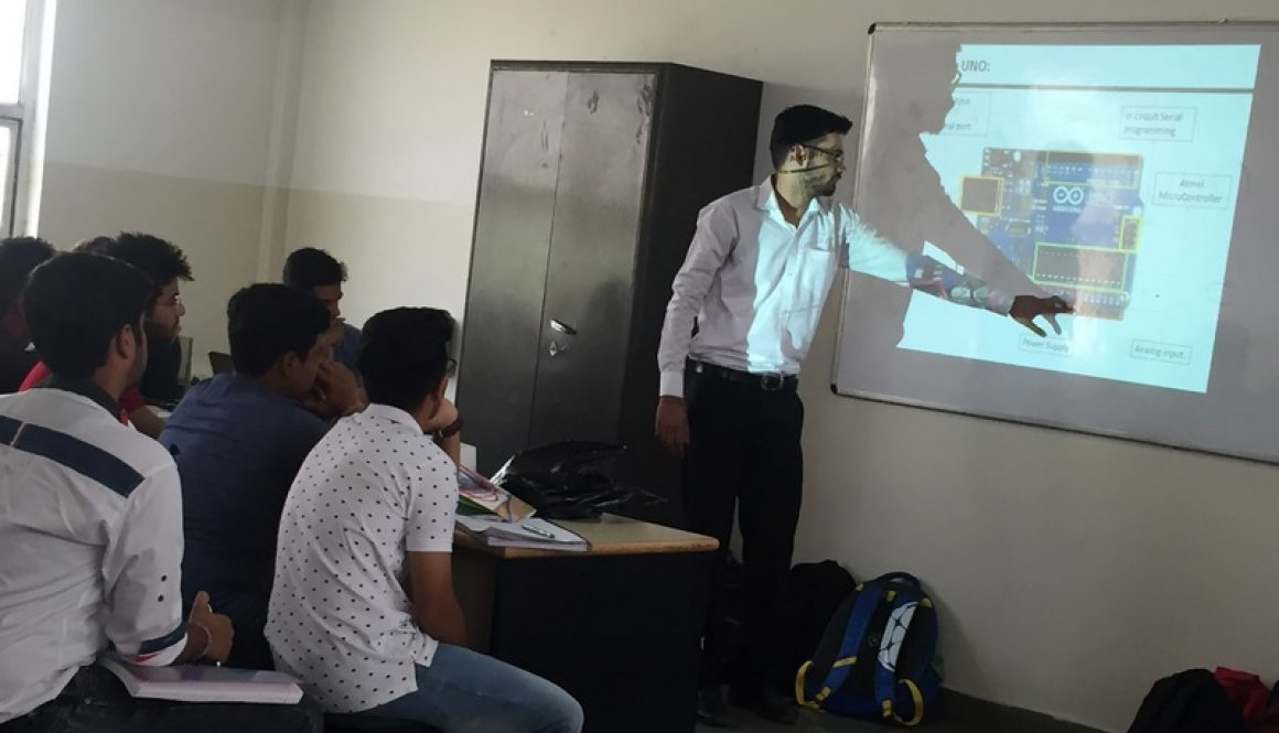 Day 3 of Mechanical Engineering, MRU Orientation Programme