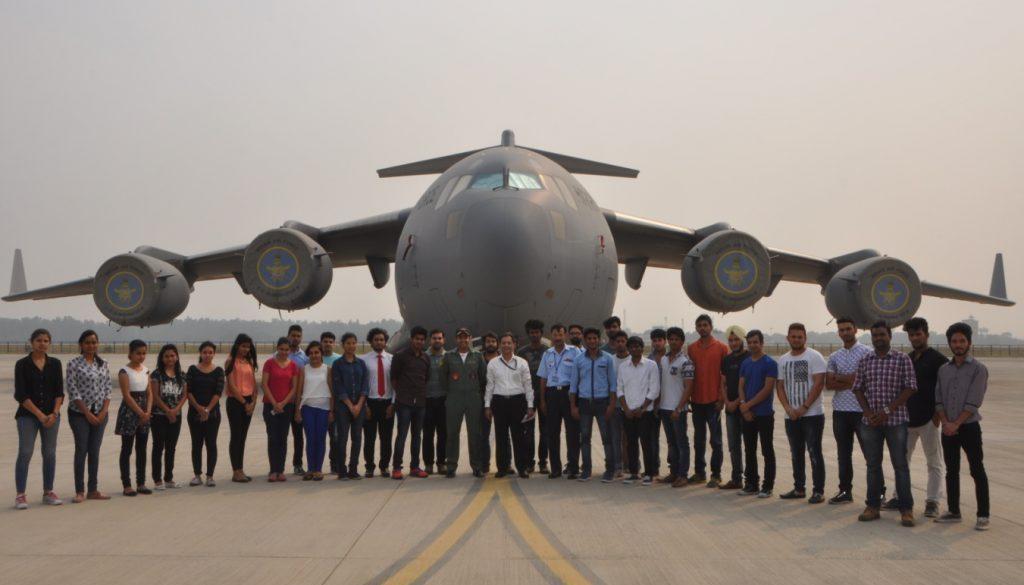 'Educational Visit to Hindon Airforce Base at Ghaziabad' (3)