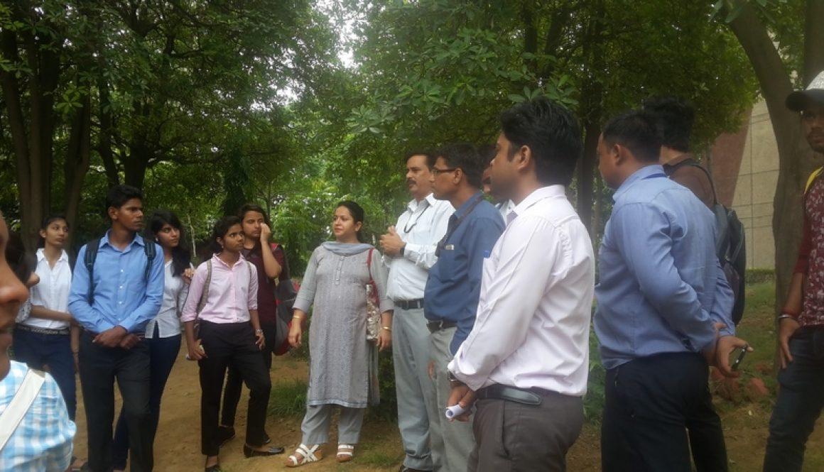 Faculty of Applied Sciences, MRU Students visited TERI Retreat