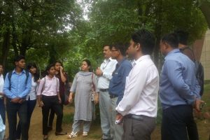 Faculty of Applied Sciences, MRU Students visited TERI Retreat (1)