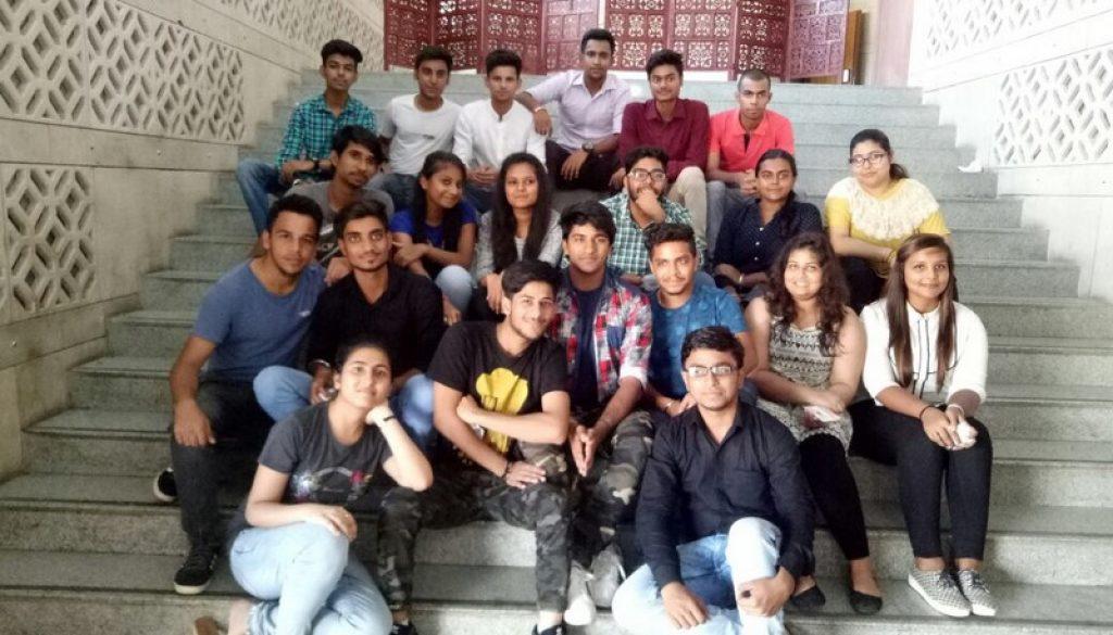 First Year BAJMC, FMeH students visit Lok Sabha TV (1)