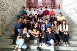 First Year BAJMC, FMeH students visit Lok Sabha TV
