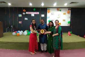 """Four days workshop on Art of Living – """"Mind Matters"""" was organized by CSE, MRU"""