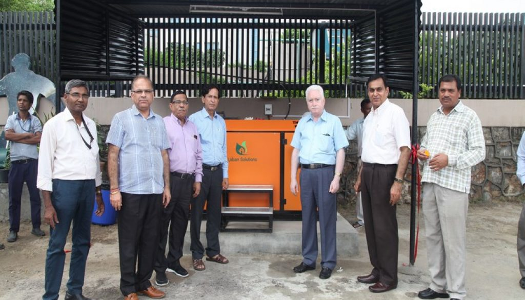 Inaugural Ceremony of Organic Composter held at Manav Rachna Campus (2)