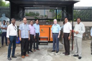 Inaugural Ceremony of Organic Composter held at Manav Rachna Campus