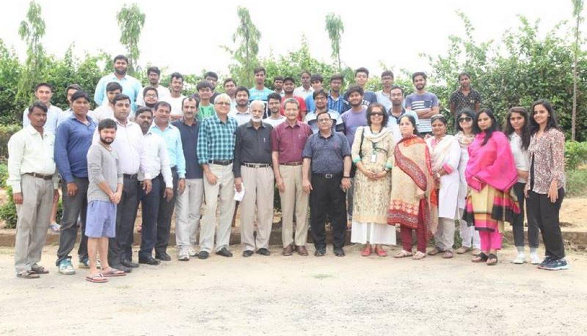Manav Rachna Successfully Organises Plantation Drive under HaritHaryana Campaign