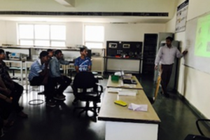 Two day workshop for B.Sc. students by Department of Electronics and Communication, MRU