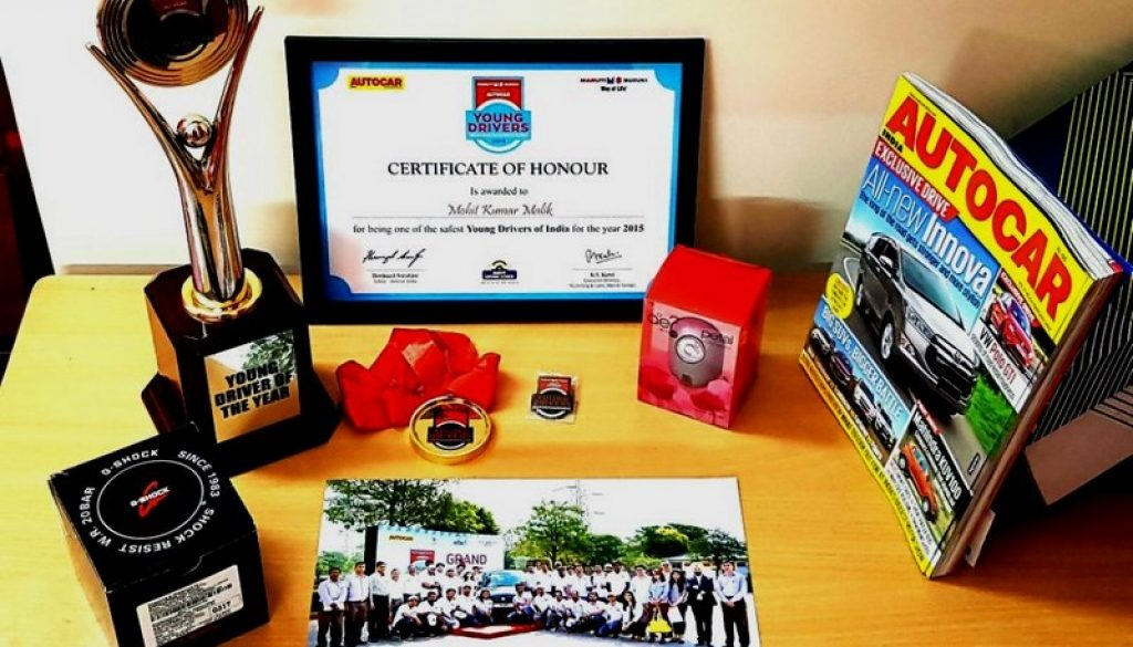 Alumni of CSE, FET, MRIU Awarded Safest Young Driver of the Year (1)