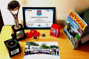 Alumni of CSE, FET, MRIU Awarded Safest Young Driver of the Year