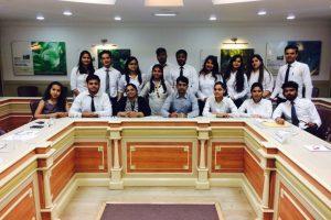 Department of Business Studies, FCBS, Manav Rachna International University conducted a 'Mock Business meeting'