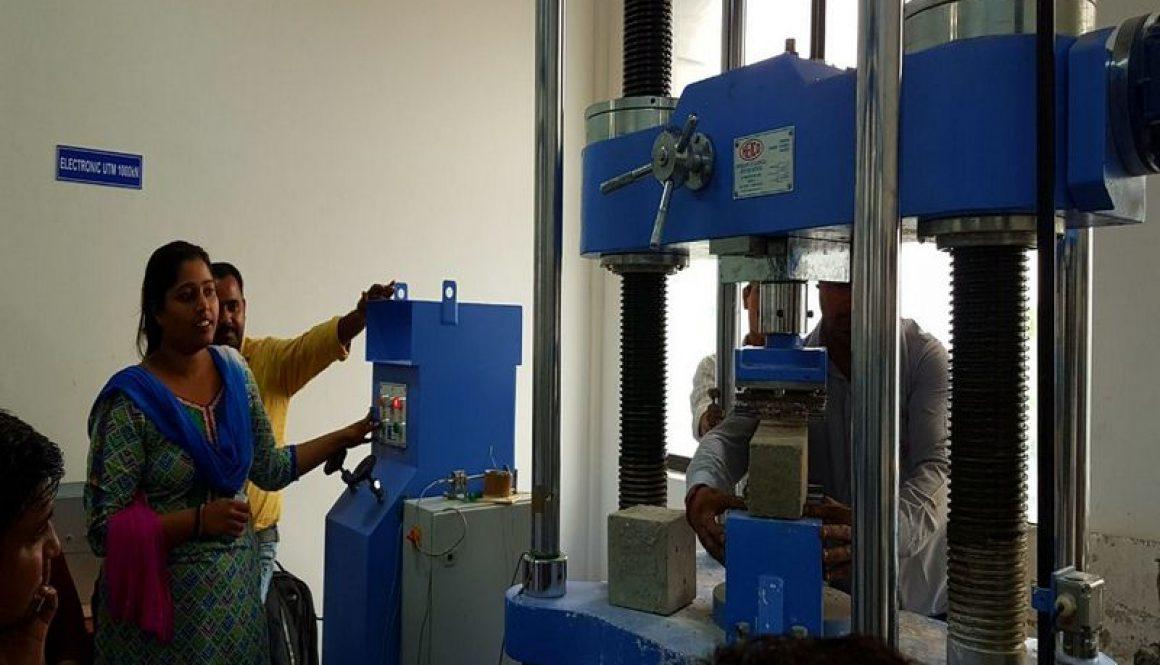 "One Day Training on ""Universal Testing Machine (UTM)-1000kN"""