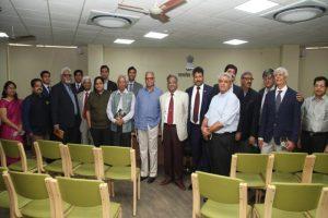 Shri Ratan Lal Lahoti Memorial Law Library Inaugurated at MRU by Hon'ble Justice R.C. Lahoti