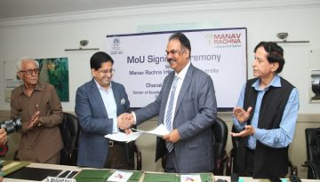 Manav Rachna Signed MoU with Chanakya IAS Academy for Center of Excellence for IAS Coaching (6)
