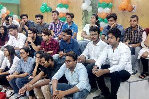 Media Students' visit Lok Sabha TV