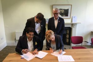 MoU between Manav Rachna Educational Institutions & the University of the West of England, Bristol