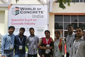 Visit to World of Concrete, Pragati Maidan by PG Students of Department of Civil Engineering