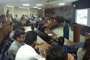 Central Law Library Team Organised Presentation On Library Resources