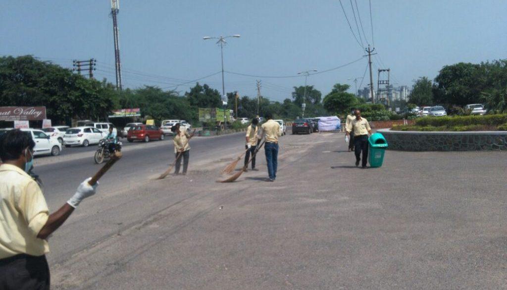 Clean surrounding Day - Swachhta Pakhwada (3)