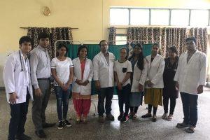 Community Health Camp At Sector 21C, Faridabad
