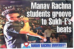 DT Fresh Face organised at Manav Rachna Campus