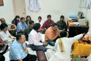Department Of Prosthodontics, Manav Rachna Dental College Celebrated Ganesh Chaturthi (2)