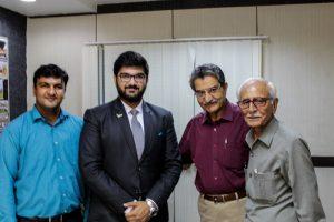 Department of Automobile Engineering, FET, Manav Rachna International University, organized an Alumni Guest Lecture