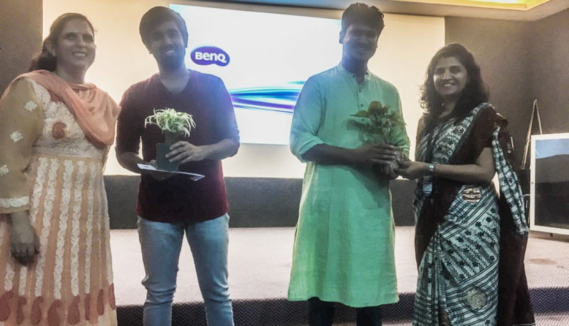 Department of Computer Science and Technology, Manav Rachna University organized an Alumni lecture on 'Technologies used in startups'