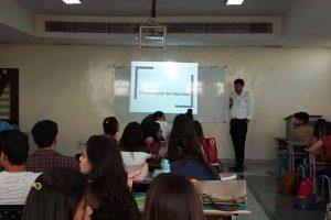 Department of English, Manav Rachna International University organized a guest lecture