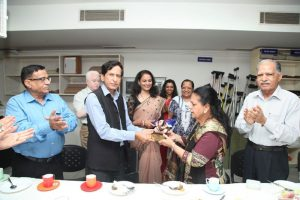 Diet and Nutrition Clinic inaugurated at Manav Rachna! (1)