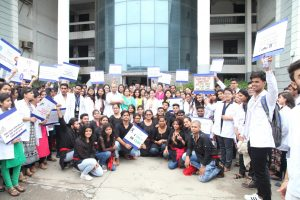 Faculty of Applied Sciences, Manav Rachna International University conducted 'HEALTH ASSESSMENT CAMP'