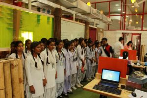 Government School Students visit in MREI Campus