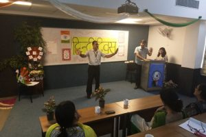 Hindi Day Celebrations at Manav Rachna