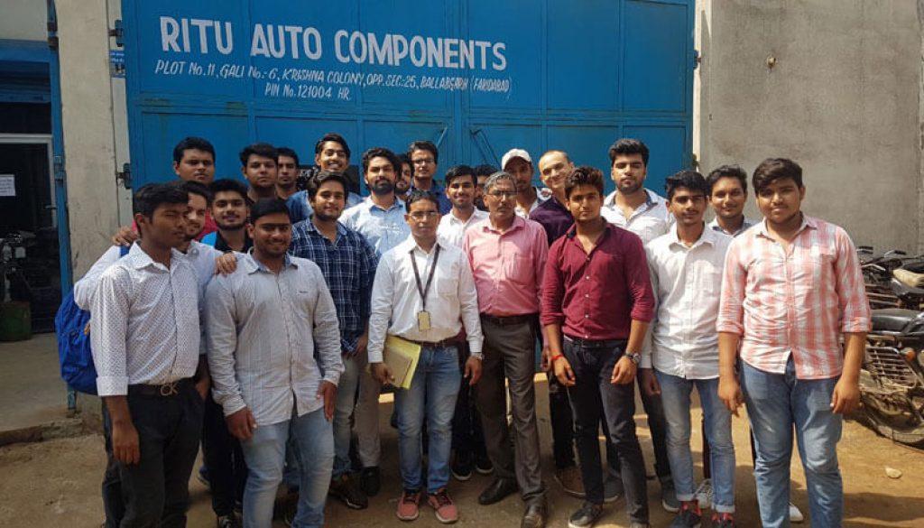 Industrial Visit To Ritu Auto Components, Faridabad (3)