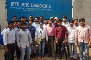 Industrial Visit To Ritu Auto Components, Faridabad