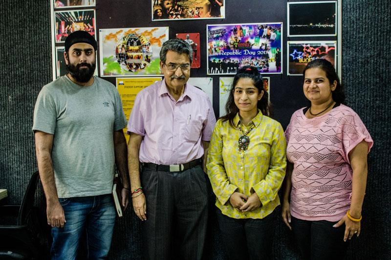 Manav Rachna Alumni Association was gleeful to welcome Ms. Sameeya Zargar, alumnus of Civil, FET, MRIU
