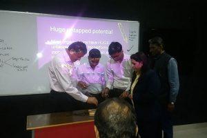 Manav Rachna University organized a one day workshop on 'Team Building'