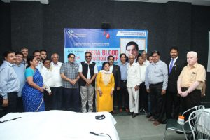 Dr O.P. Bhalla Foundation organizes a Mega Blood Donation Camp & Thalassemia screening drive