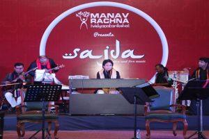 Manav Rachna presented 'Sajda' as a tribute to all teachers on Teacher's Day