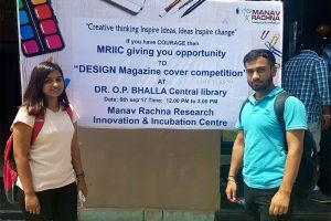 Poster competition for cover page design of MRIIC magazine