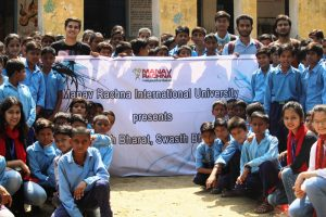 Skit on Swachta at Government Middle School, Lakkarpur – 4th September 2017
