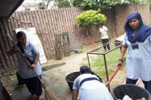 Shiv Mandir Cleaning was recently conducted by the Staff of MRDC